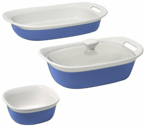 etch by CorningWare  sc 1 st  Microwave Cooking for One by Marie T Smith & Discontinued CorningWare etch Blue Cornflower Bakeware