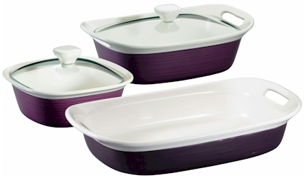 etch by CorningWare  sc 1 st  Microwave Cooking for One by Marie T Smith & Discontinued CorningWare etch Eggplant Bakeware